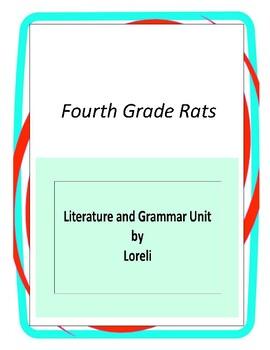 Fourth grade rats teaching resources teachers pay teachers fourth grade rats book unit with literary and grammar activities fandeluxe Gallery