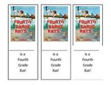 Fourth Grade Rats Bookmark