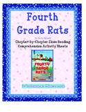 Fourth Grade Rats Close Reading Comprehension Packet