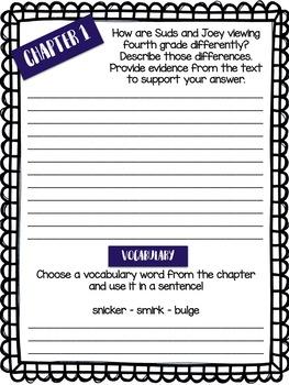 Fourth Grade Rats - Comprehension Questions
