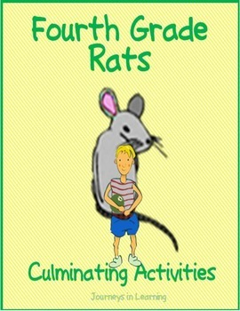 Fourth Grade Rats Culminating Activities