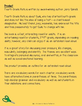 Fourth Grade Rats--FREEBIE Preview