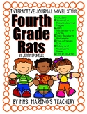 Fourth Grade Rats Interactive Journal Novel Study