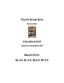 Fourth Grade Rats Literature Unit