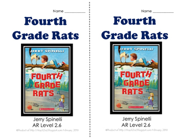 Fourth Grade Rats by Jerry Spinelli