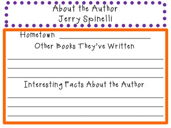 Fourth Grade Rats by Jerry Spinelli: Character, Plot, Setting