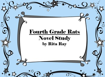 Fourth Grade Rats by Jerry Spinelli Novel Packet
