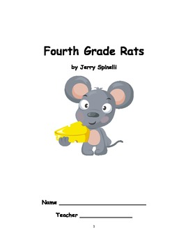 Fourth Grade Rats novel unit