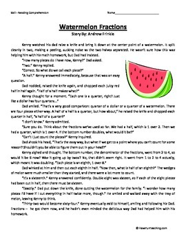 Fourth Grade Reading Comprehension Worksheet by Have Fun ...