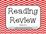 Fourth Grade Reading Review Common Core Week 1-2