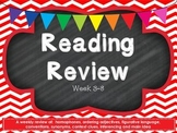 Fourth Grade Reading Review Common Core Week 3-8