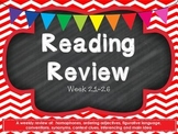 Fourth Grade Reading Review Common Core week 21-26