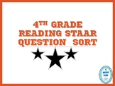 Fourth Grade Reading STAAR Question Sort