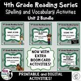 4th Grade Reading Street Spelling & Vocab Unit 2 Bundle (printable AND digital!)