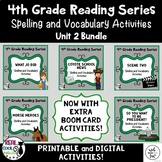 4th Grade Reading Street Spelling & Vocab Unit 2 Bundle (printable AND digital!)