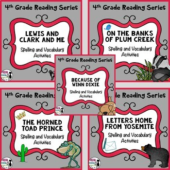 4th Grade Reading Street Unit 1 Vocab Worksheets Teaching