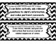 """Fourth Grade Reading TEKS - """"I can..."""" Statement Cards"""