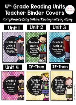 Fourth Grade Reading Units of Study Teacher Binder