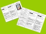 Fourth Grade Reading Wonders Unit 1  Anthology Tri-Folds All Five Weeks