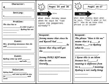 Fourth Grade Reading Wonders Unit 1 Week 2 Anthology Tri-Fold
