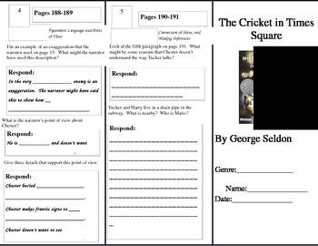 Fourth Grade Reading Wonders Unit 3 Week 1 Anthology Tri-Fold