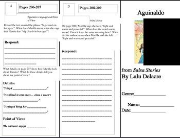 Fourth Grade Reading Wonders Unit 3 Week 2 Anthology Tri-Fold