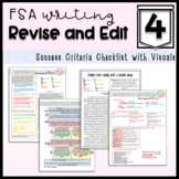 Writing Checklist for Fourth Grade: Revising & Editing for