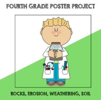 Fourth Grade Rock, Erosion & Weathering Poster Project