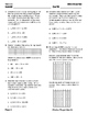 Fourth Grade Math Test Prep: STAAR Assessment Daily Quiz STAAR 4.4E