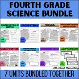 Fourth Grade Science Bundle
