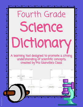 Fourth Grade Science Dictionary