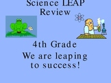 Fourth Grade Science LEAP Review