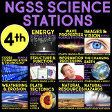 Fourth Grade Science Station BUNDLE - ALL Next Generation Science Standards