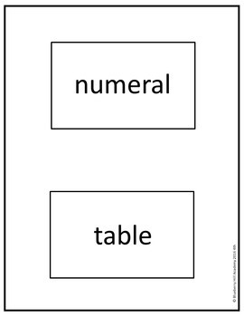 Sight Words for Sentence Building (Fourth)