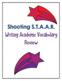 Fourth Grade Shooting STAAR Academic Vocabulary Review Math Reading Writing