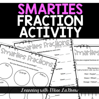 Fourth Grade Smarties Fractions Activity Lesson