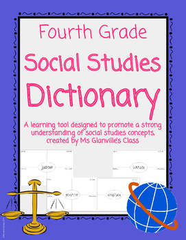 Fourth Grade Social Studies Dictionary