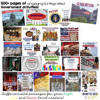 Fourth Grade Social Studies Curriculum Bundle (History, Government, Economics)