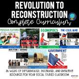 Social Studies Curriculum bundle (Fourth Grade US History)