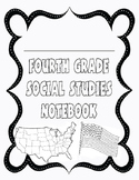 Fourth Grade Social Studies Interactive Notebook Cover Sheet