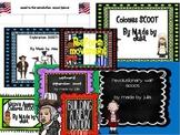 Fourth Grade Social Studies Scoot BUNDLE- Great for GA Milestone!