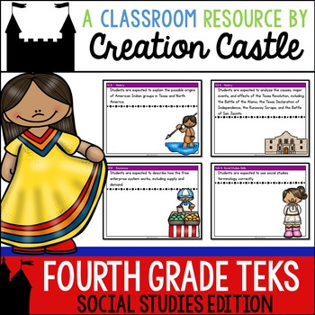 Fourth Grade Social Studies TEKS