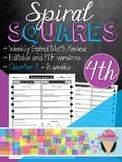 Fourth Grade Spiral Review Squares - Quarter 3
