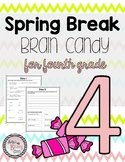 Fourth Grade Spring Break Packet
