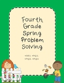 Fourth Grade Spring Problem Solving