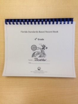 Fourth Grade Standards-Based Record Book- FLORIDA STANDARDS