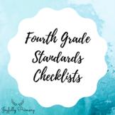Fourth Grade Standards Checklists