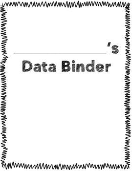 Fourth Grade Student Data Binder