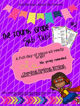 Fourth Grade Sub Tub 2