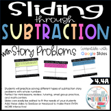 Fourth Grade Subtraction Digital Slides - Story Problems